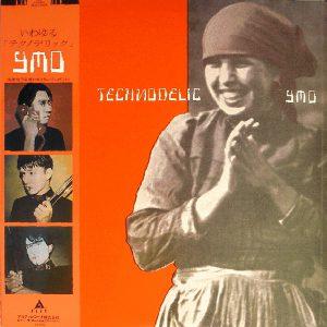 YMO「テクノデリック」LP(12インチ)/Alfa(ALR-28030)