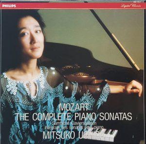内田光子 / モーツァルト / ピアノ・ソナタ全集(オランダ盤 / 7LP Box)