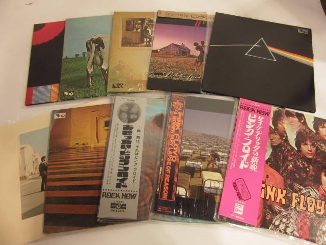 ピンク・フロイドなど洋楽ロックレコードを買取