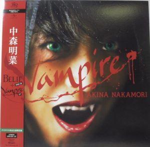 中森明菜「Vampire + Belie」UHQ-CD・LP(12インチ)Universal Records(UPCH-7207)